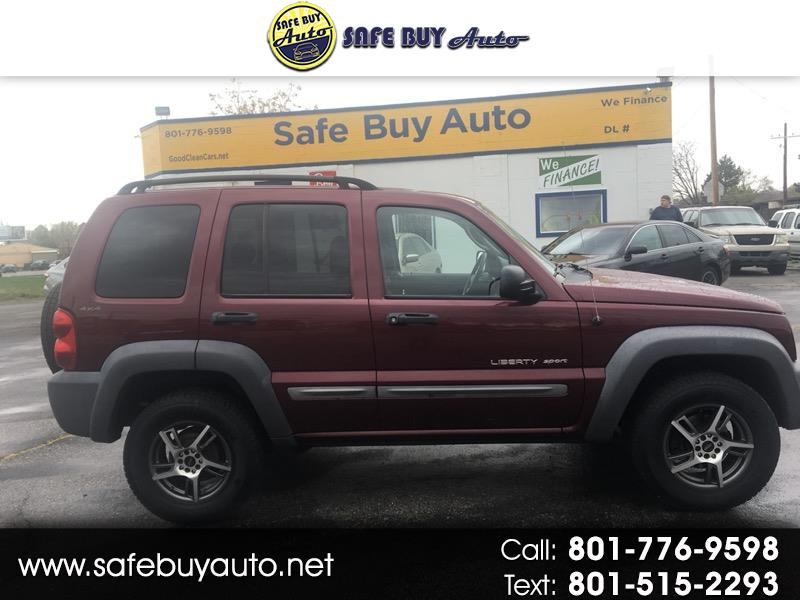 2002 Jeep Liberty 4dr Sport 4WD