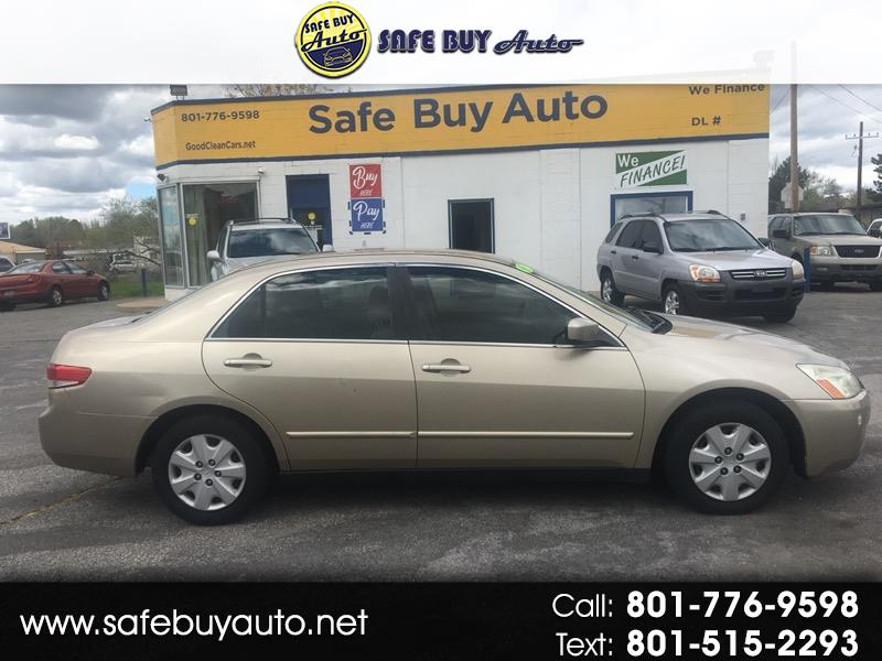 2003 Honda Accord Sedan 4dr I4 Man LX