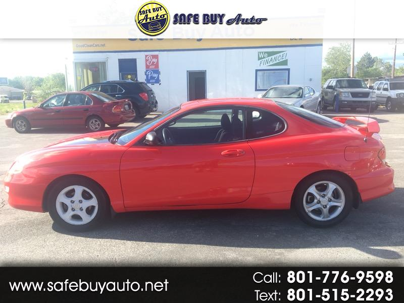 2001 Hyundai Tiburon 2dr Cpe I4 Manual GS