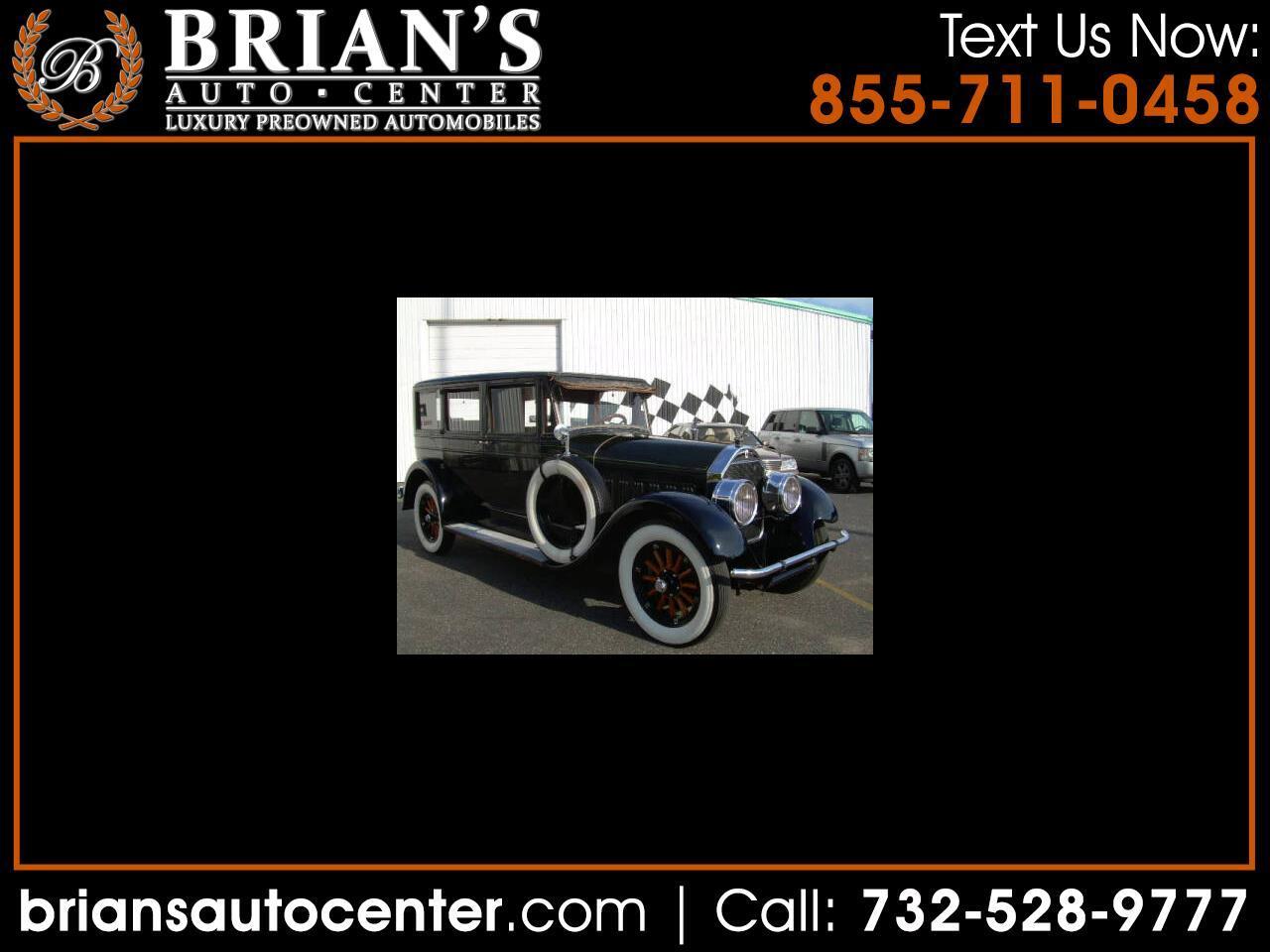 Pierce Arrow Model 133  1928