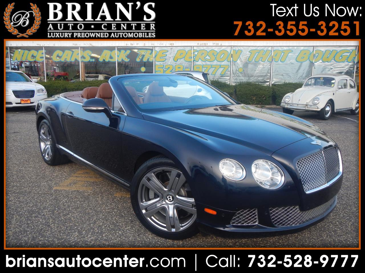 2012 Bentley Continental GTC 2dr Conv