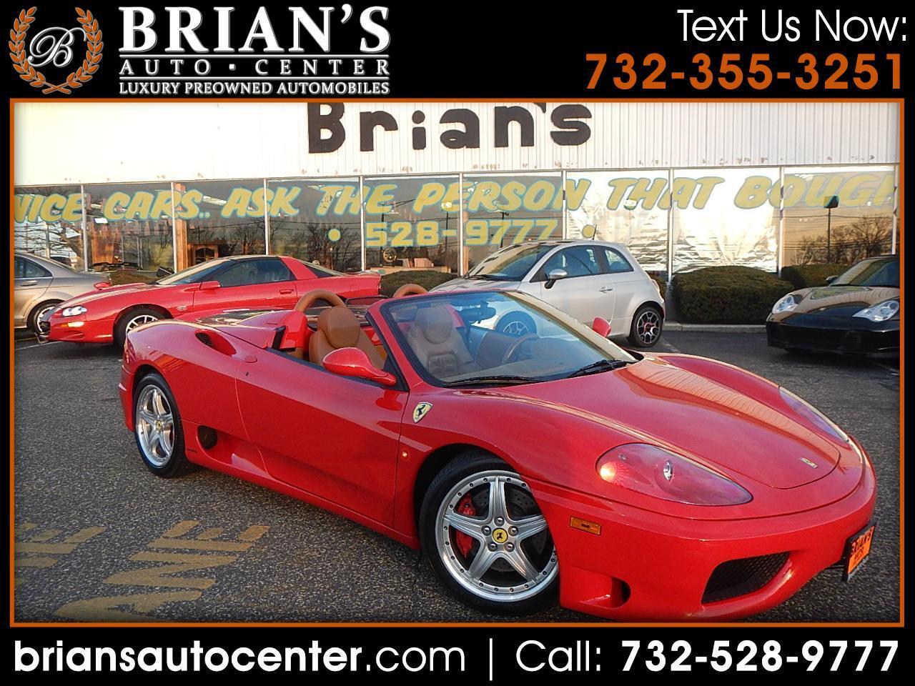 2003 Ferrari 360 Modena Spider
