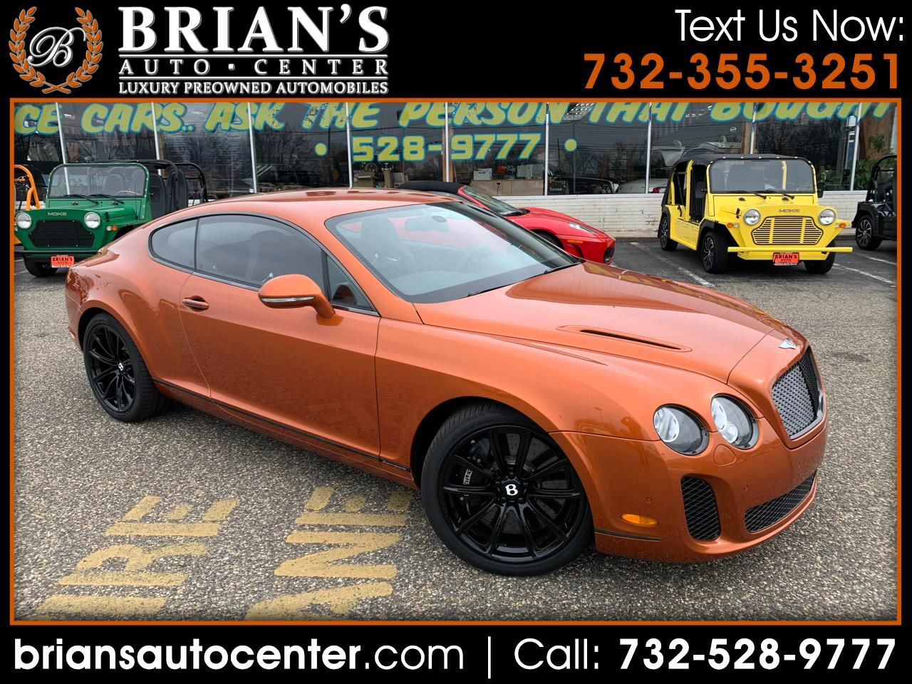 Bentley Continental GT 2dr Cpe Supersports 2010