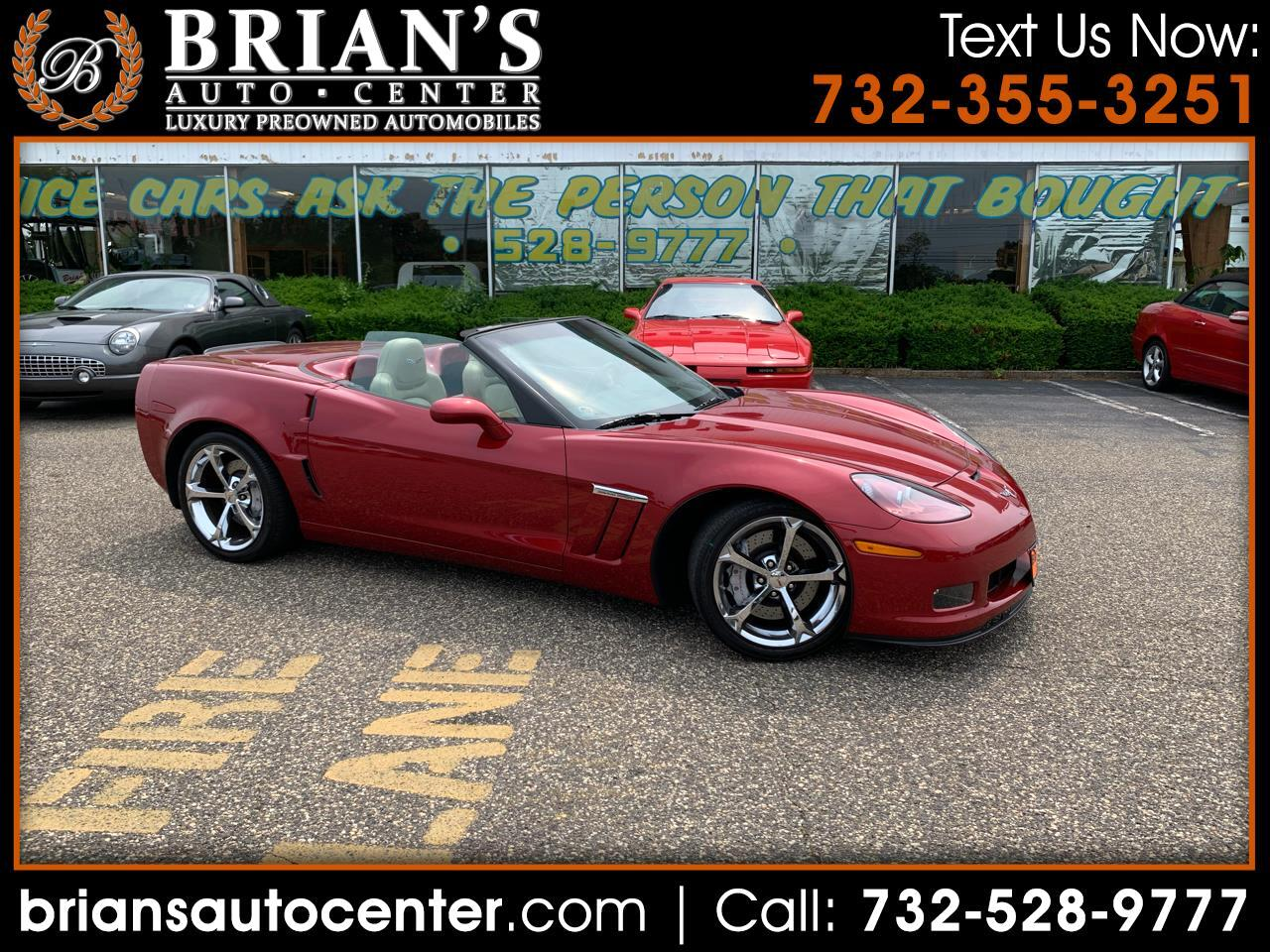 2012 Chevrolet Corvette GS Convertible 3LT