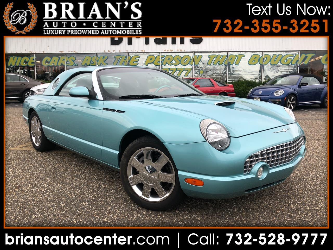 2002 Ford Thunderbird 2dr Conv w/Hardtop Deluxe