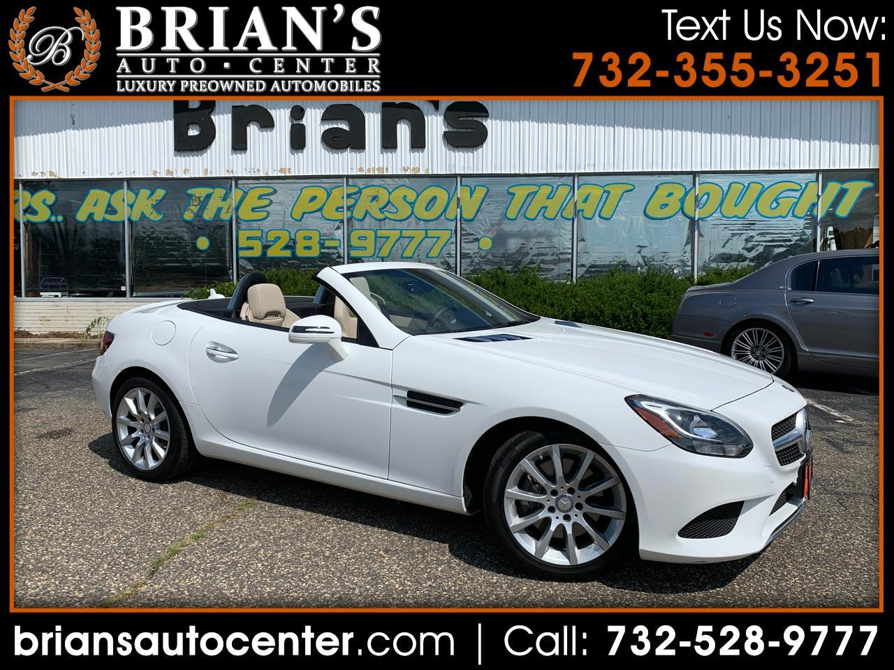2017 Mercedes-Benz SLK SLC 300 Roadster