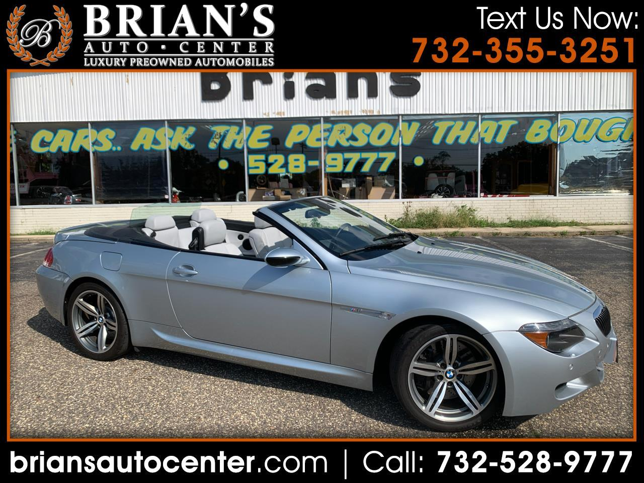 BMW 6 Series 2dr Conv M6 2007
