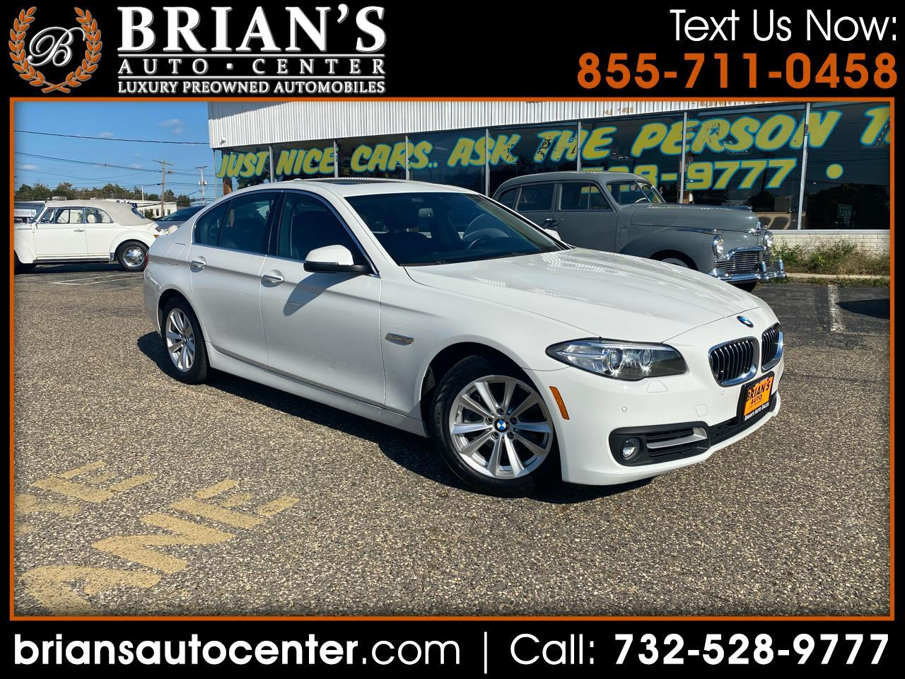 BMW 5 Series 4dr Sdn 528i xDrive AWD 2016
