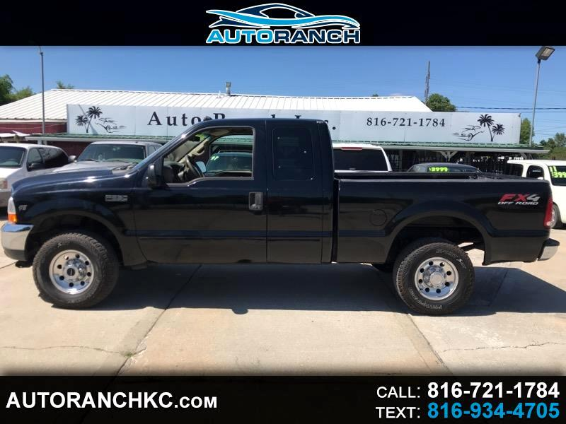 2002 Ford F-250 SD FX4 SuperCab 4WD
