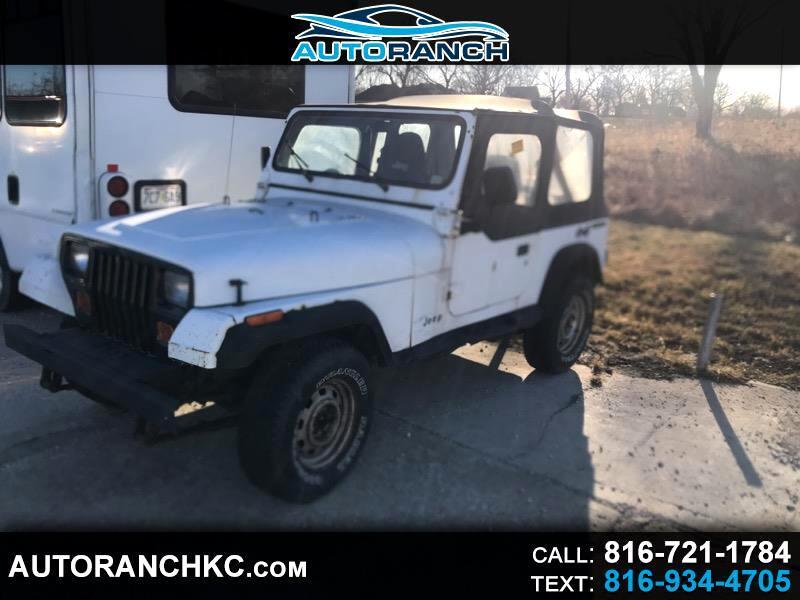Jeep Wrangler S Soft Top 1989
