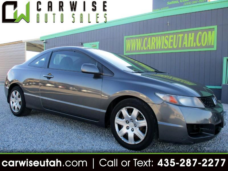 2011 Honda Civic Sedan >> Used 2011 Honda Civic Lx Coupe 5 Speed At For Sale In Salina