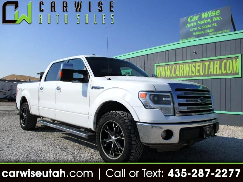 "Ford F-150 SuperCrew 150"" Lariat 4WD 2013"