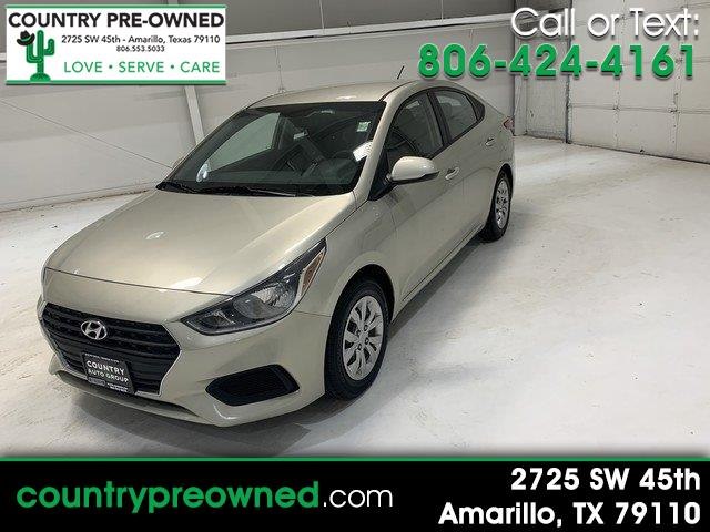 Hyundai Accent SE 4-Door 6A 2018
