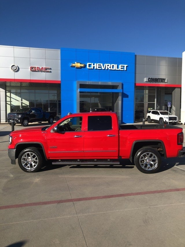 GMC Sierra 1500 SLT Crew Cab Long Box 4WD 2017