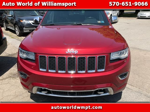 2014 Jeep Grand Cherokee 4dr Overland 4WD