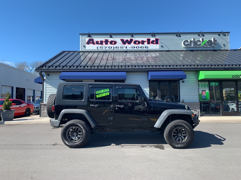 2010 Jeep Wrangler 4WD 4dr Unlimited X
