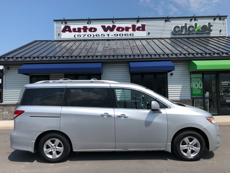2012 Nissan Quest SE-Cloth
