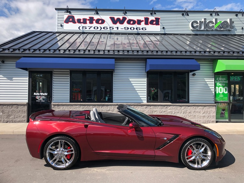 2017 Chevrolet Corvette Z51 1LT Convertible