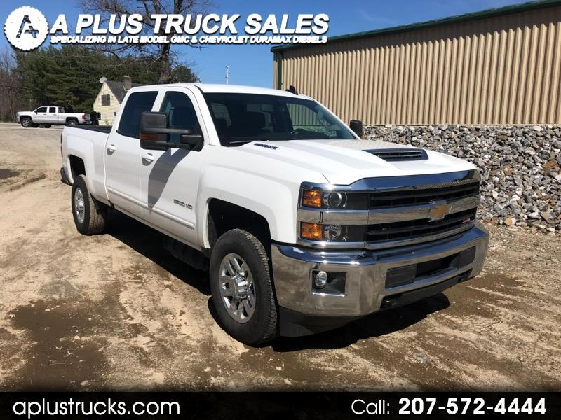 2018 Chevrolet Silverado 2500HD LT DURAMAX DIESEL 4WD LEATHER. ONLY 11,800 MILES!!