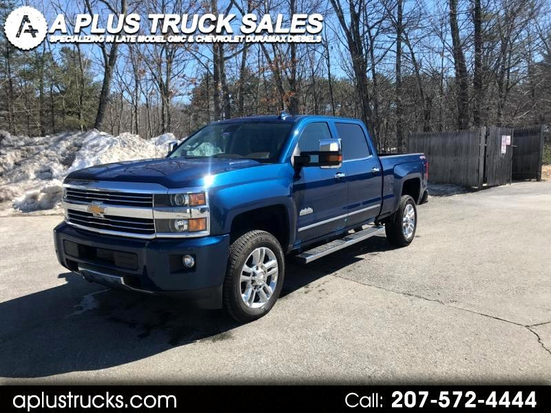 2015 Chevrolet Silverado 2500HD 2500HD HIGH COUNTRY DURAMAX DIESEL FROM TEXAS!!
