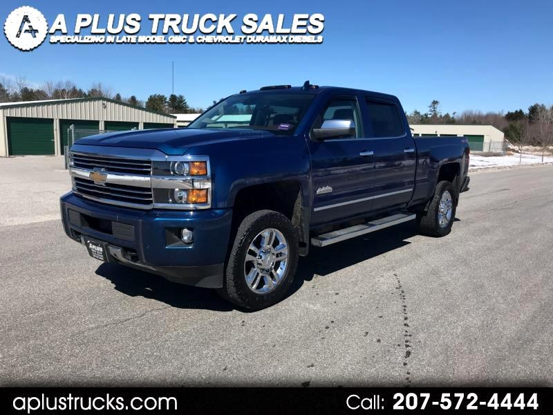 2016 Chevrolet Silverado 2500HD HIGH COUNTRY DURAMAX DIESEL CREW CAB