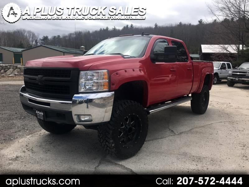 2008 Chevrolet Silverado 2500HD LTZ CREW CAB SHORT BED DURAMAX DIESEL 4WD LIFTED