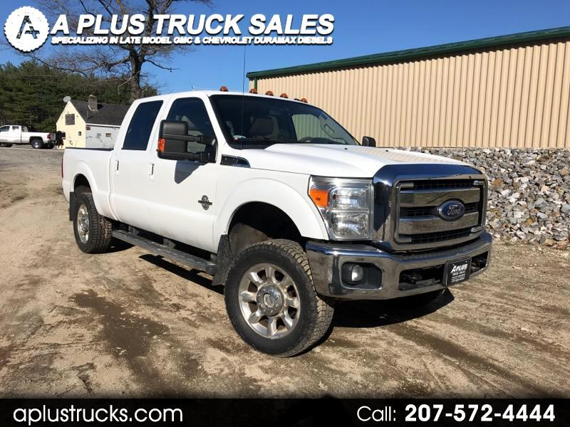 2011 Ford F-250 SD LARIAT CREW CAB SHORT BED 4WD POWERSTROKE