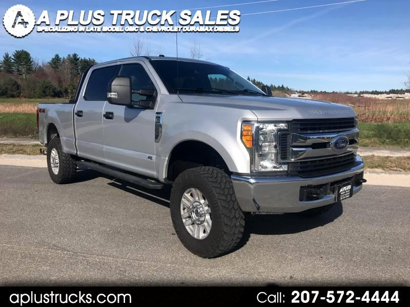 2017 Ford F-250 SD POWERSTROKE 6.7L CREW CAB SHORT BED XLT 4WD