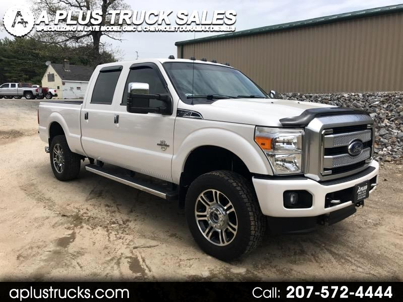 2015 Ford F-350 SD PLATINUM CREW CAB SHORT BED 4WD POWERSTROKE 6.7
