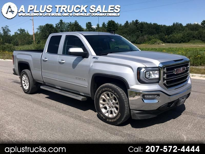 2017 GMC Sierra 1500 SLE DOUBLE CAB SHORT BED 4WD 5.3L V8