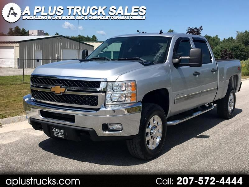 2013 Chevrolet Silverado 2500HD LT CREW CAB SHORT BED 4WD 6.0