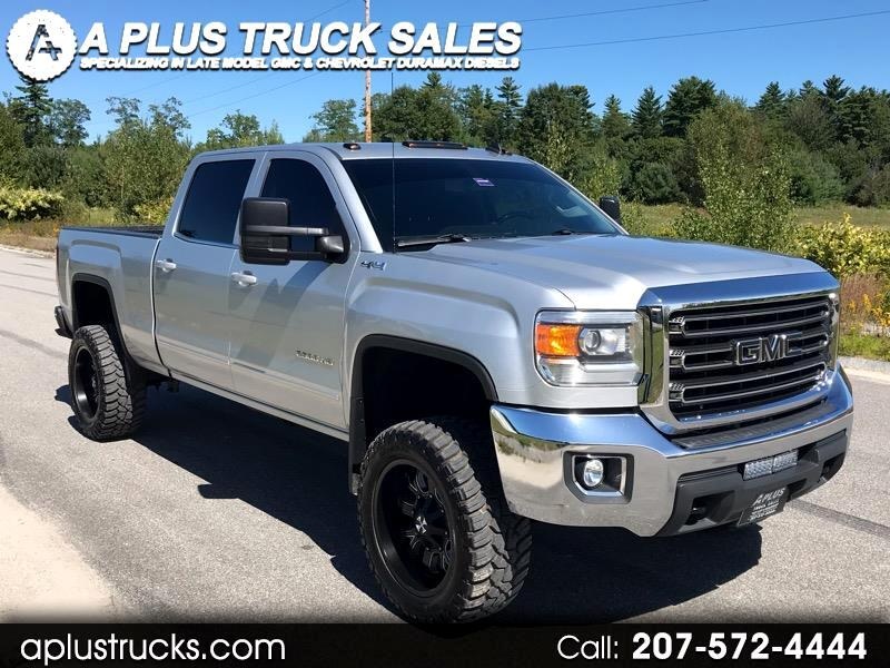 2015 GMC Sierra 2500HD available WiFi 4WD Crew Cab Short Bed 6.0L SLE