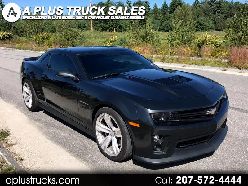 2013 Chevrolet Camaro Coupe ZL1 Supercharged 6.2L V8