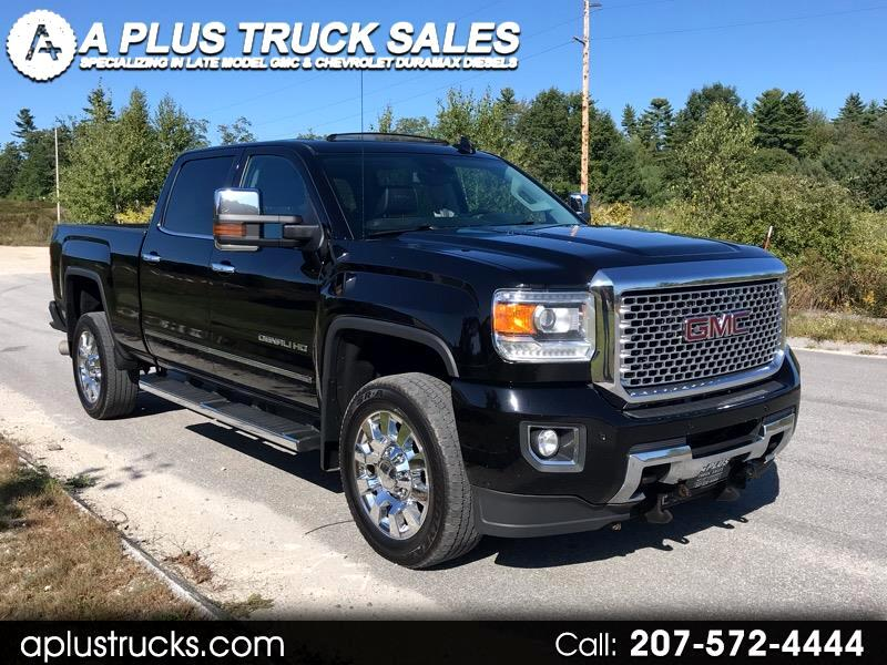 2015 GMC Sierra 2500HD Duramax Diesel 2015 DENALI DURAMAX BLACK LEATHER SUNROOF !