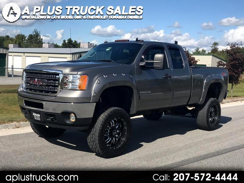 2013 GMC Sierra 2500HD EXT CAB SHORT BED 4WD DURAMAX DIESEL