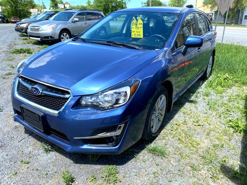 Subaru Impreza 2.0i Premium PZEV 5-Door 2016
