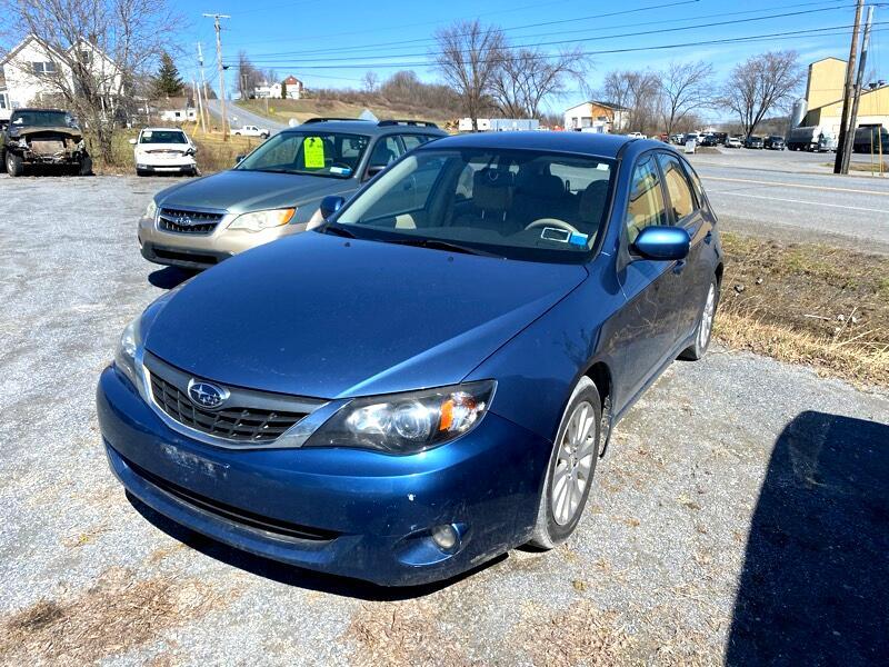 Subaru Impreza 2.5i 5-door 2008