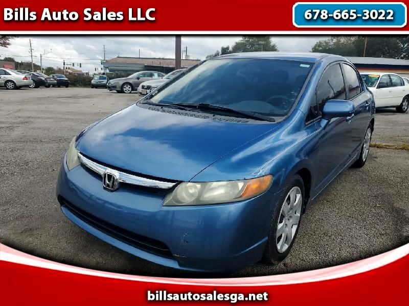 Honda Civic LX sedan 2008