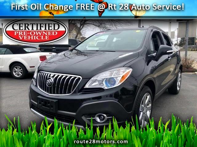 2016 Buick Encore AWD w/Sunroof, Navigation & Leather