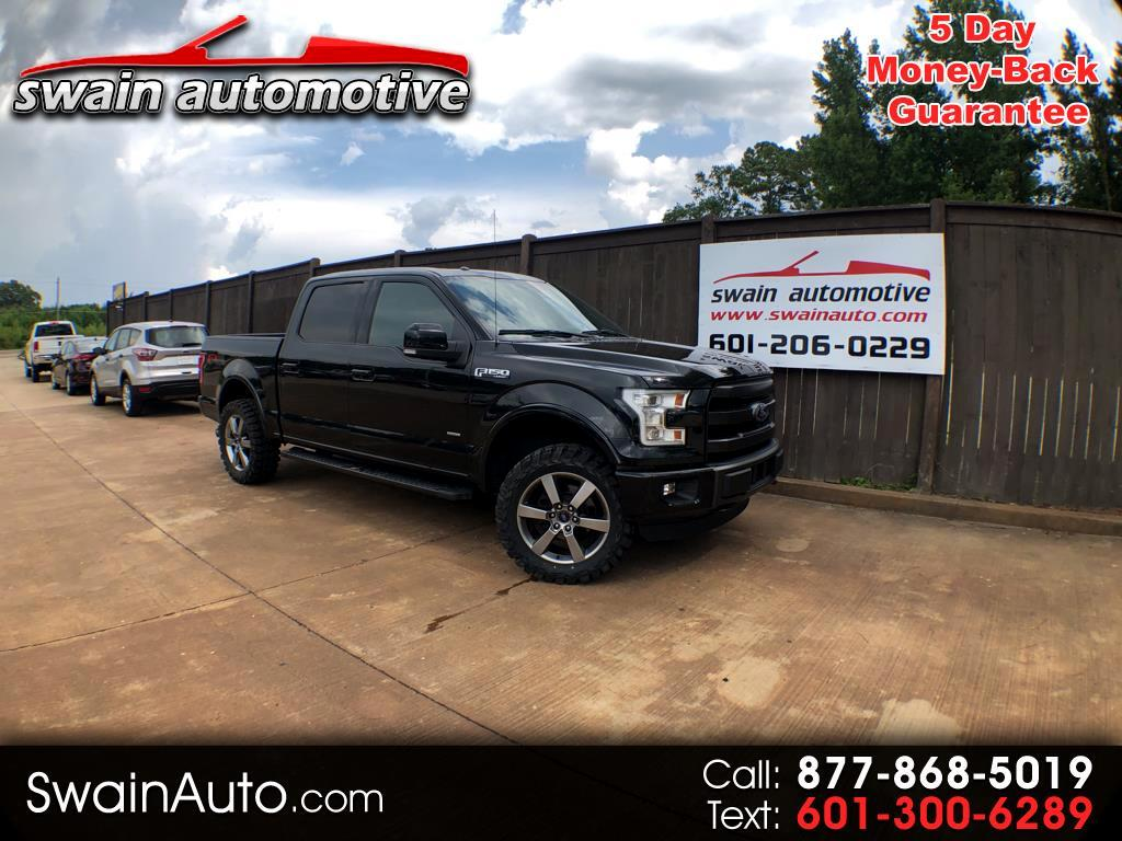 "2015 Ford F-150 4WD SuperCrew 139"" Lariat"