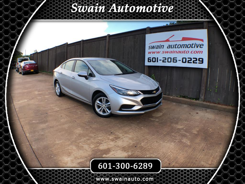 used 2017 chevrolet cruze lt auto for sale in jackson ms 39073 swain automotive. Black Bedroom Furniture Sets. Home Design Ideas