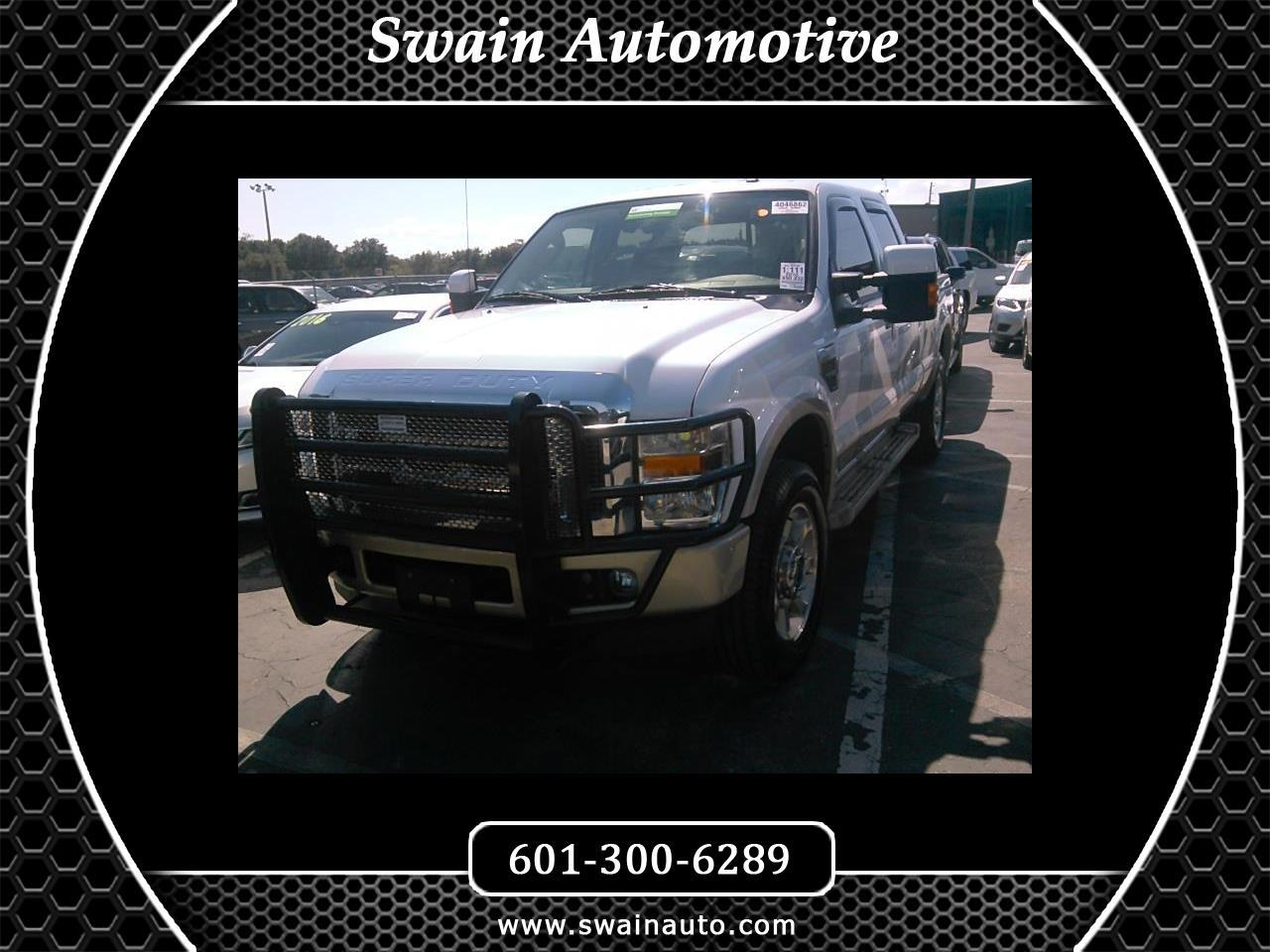2010 Ford F-250 SD KING RANCH SUPERCREW SHORT BED 4X4
