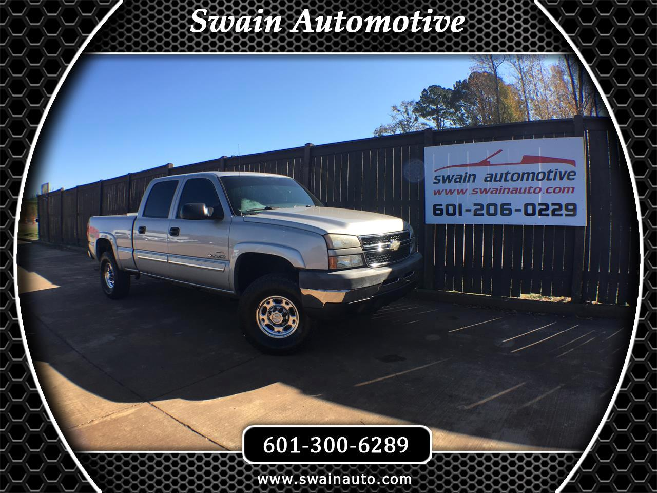2005 Chevrolet Silverado 2500HD Crew Cab Short Bed 2WD