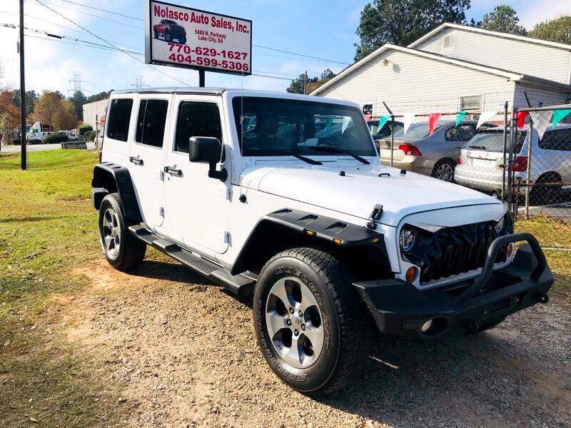 Jeep Wrangler Unlimited Sahara 4WD 2012