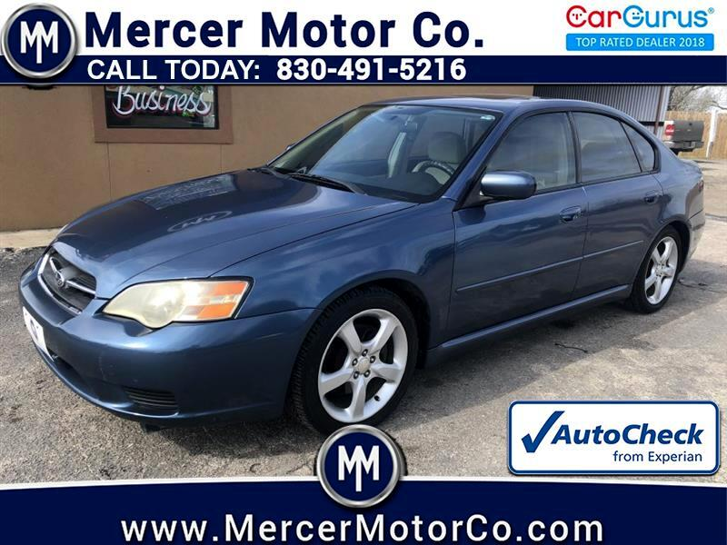 2007 Subaru Legacy Sedan 4dr H4 AT