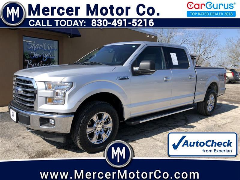 Ford F-150 XLT 4WD SuperCrew 6.5' Box 2017