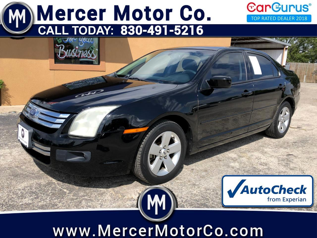 Ford Fusion 4dr Sdn I4 SE FWD 2008