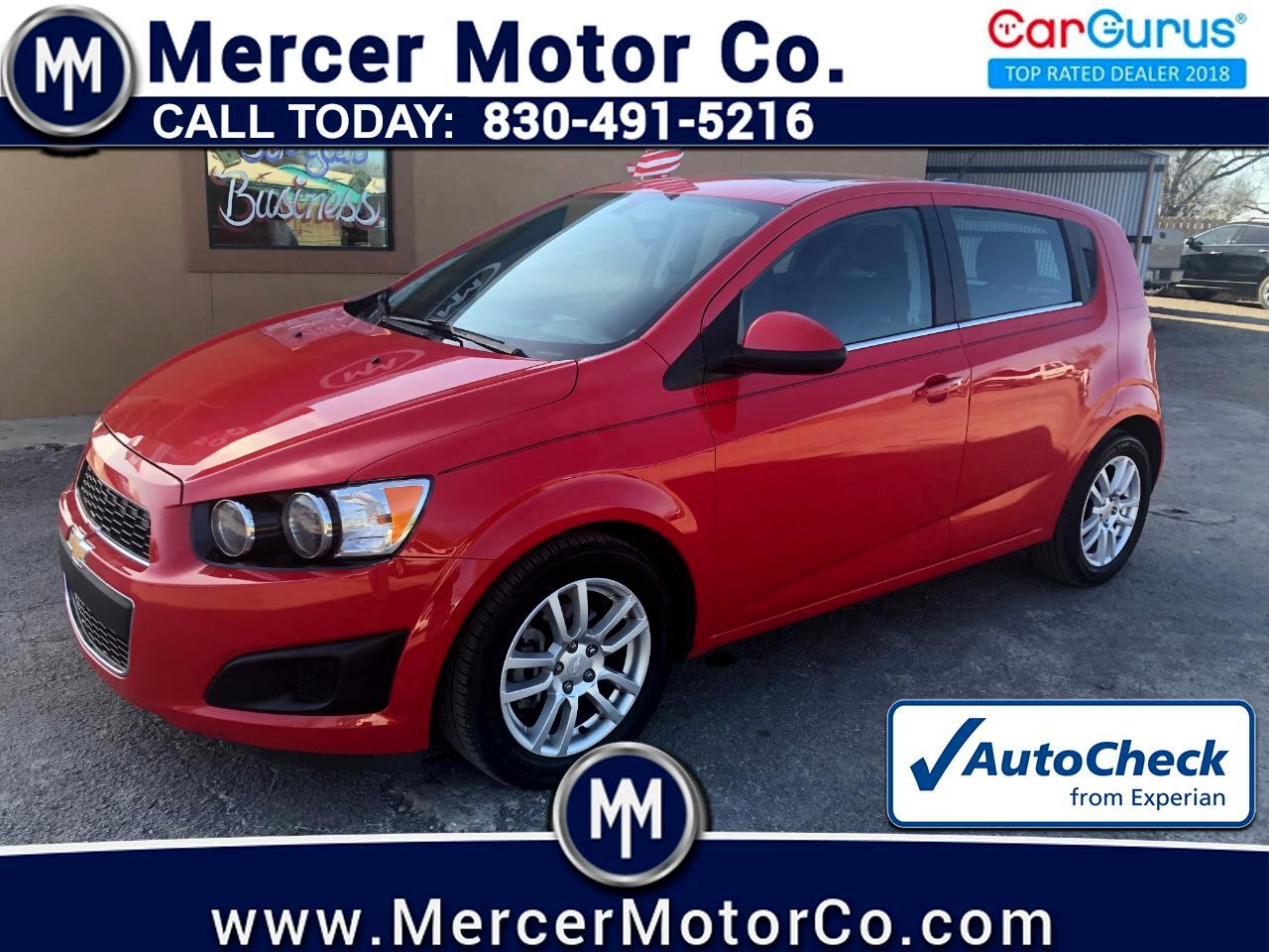 Chevrolet Sonic 5dr HB Manual LT 2015