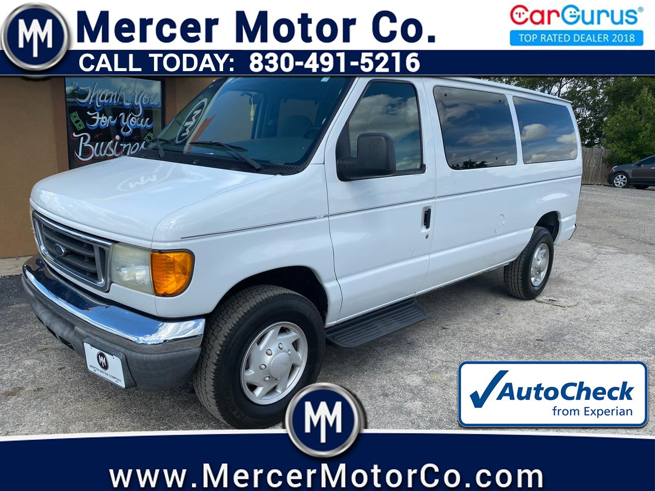 Ford Econoline Wagon E-350 Super Chateau 2006