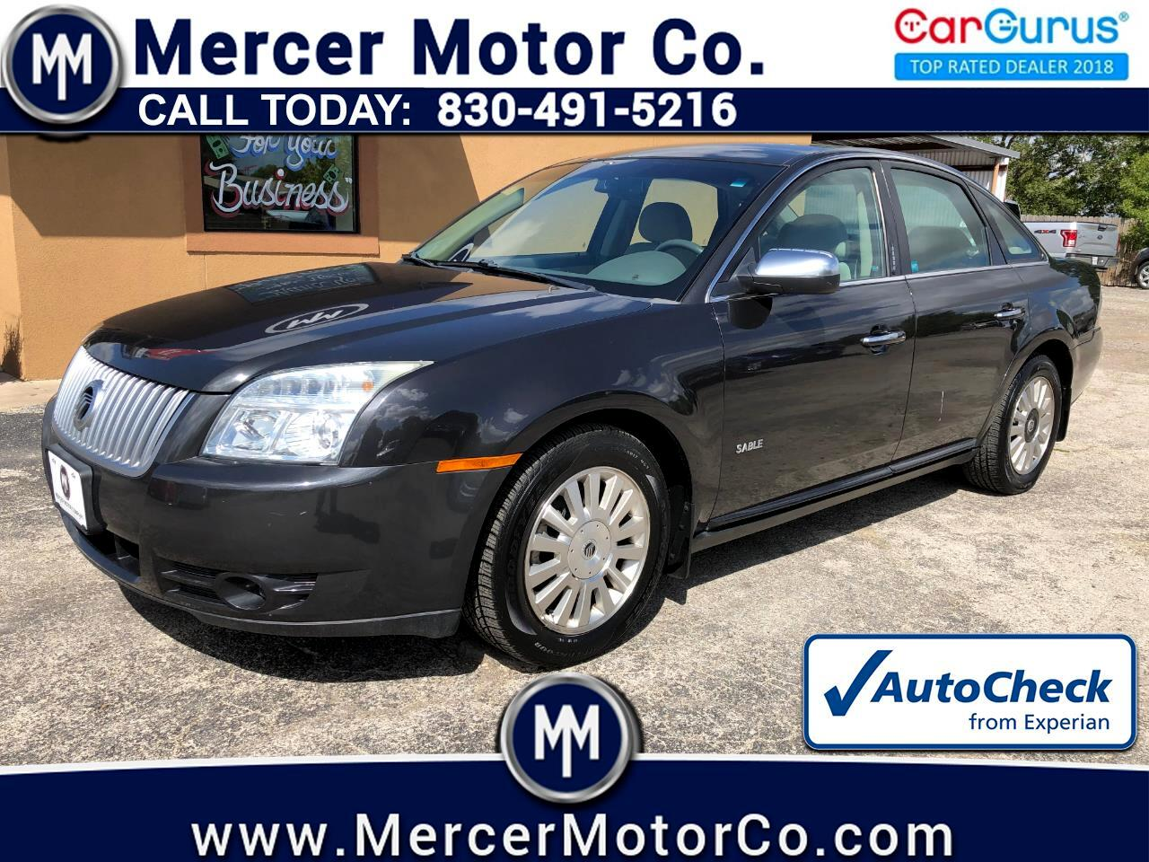 Mercury Sable 4dr Sdn FWD 2008